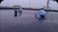 Flat Roofing polymer cement waterproof coating