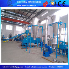 Good quality pp pe film recycling line/PP PE film or bag recycling washing line cleaning/pp pe waste film washing