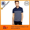top fashion navy blue stripe t-shirt polo 200 gsm polo t-shirt pk polo t-shirt for men