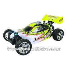 1/10th scale 4WD rc nitro powered off-road buggy