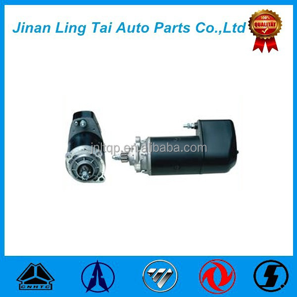 New Sinotruck howo truck parts starter motor 12187645 for dump truck