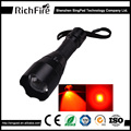 Professional lighting best rechargeable red bright tactical led flashlight