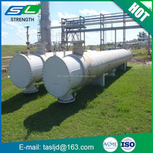 Carbon steel dull polish industry hot pressing self-made shell and tube condenser