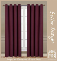 1pc wholesale 100% polyester solid weaving blackout luxury cheap hotel curtain