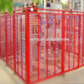 high security fence vandal resistant security fencing FRP fence