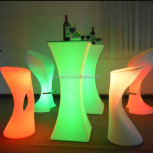 Flash Table Led Furiniture Glow Table For Bar