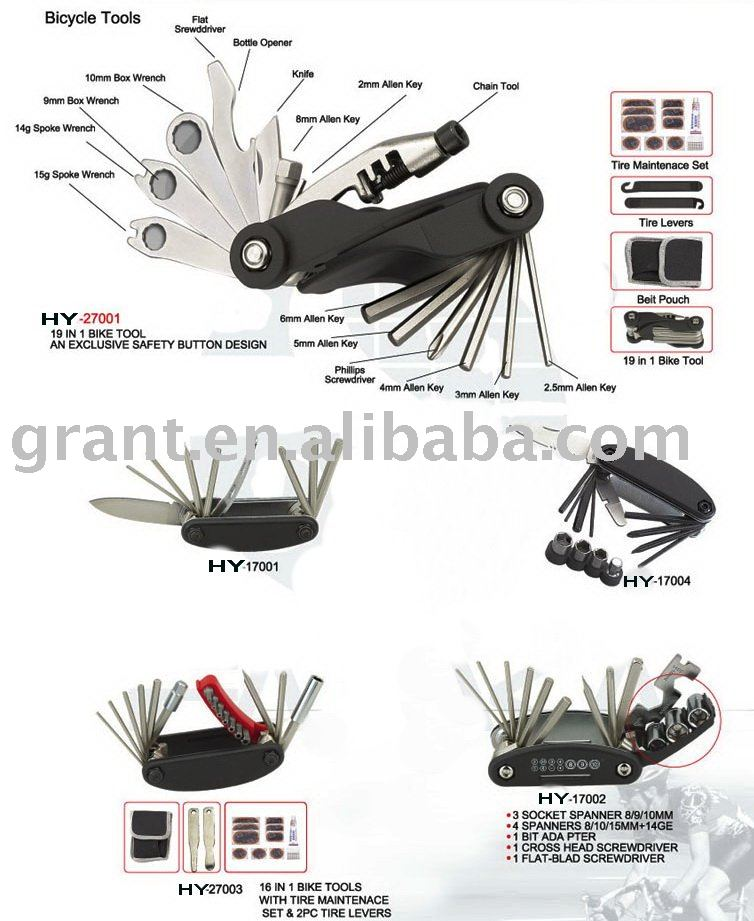 folding bicycle tool