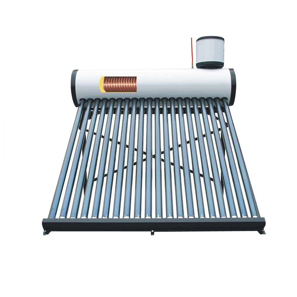 Pre heated Decorative solar heating system for hot water pressure bearing high efficiency solat system with copper coils