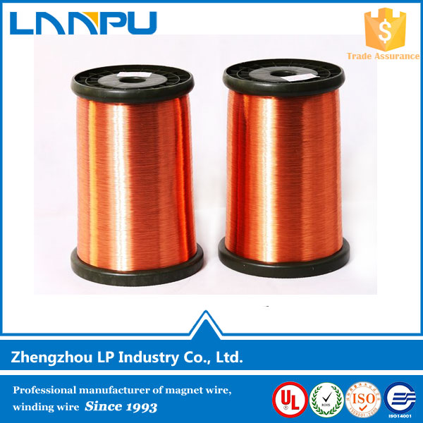 Diameter 0.12mm 3.00mm Magnet Enameled Copper Clad Aluminum CCA Wire for welding motor