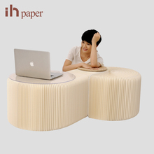 Ihpaper Brand Wholesale 6 Soft Seat Leisure Small Relaxing Accordion Chair