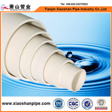 BS 4514 Walll Thickness 3.2mm pvc drainage pipe