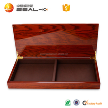 Professional design quality and quantity ensured wood packaging gift box for tie, bow tie, kerchief
