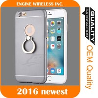 Shock-proof Case Cover &Finger Ring Stand holder for apple for iphone 6s case