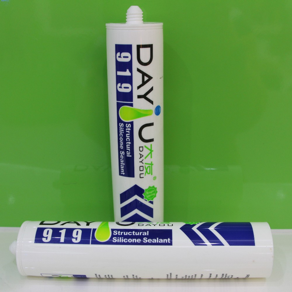 DY919 high performance neutral cure silicone structural glazing sealant
