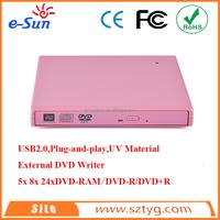 2016 wholesale bluetooth external usb mini laptop slim table pc dvd drive external optical drive dvd burner