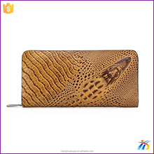 Fashion mens crocodile leather wallets purses handbags for young boy