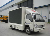 Video Display Function and Outdoor Usage Mini Led Display Screen Advertising Vehicle