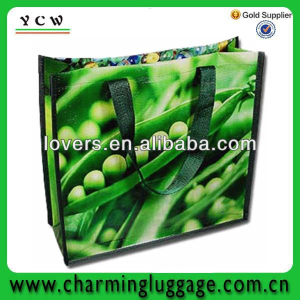 cheap eco-friends pp non woven shopping bag made in China