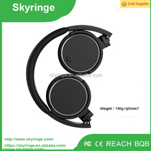 2017 New Style Lightweight Bluetooth Headphones Wireless Stereo Headphones For Phone Music