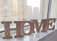 2015Teda MDF decorative alphabet letters