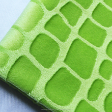 High Quality 100% Polyester Embossed Super Soft Velboa Fabric for Baby Blanket / Bedding / Home Textile