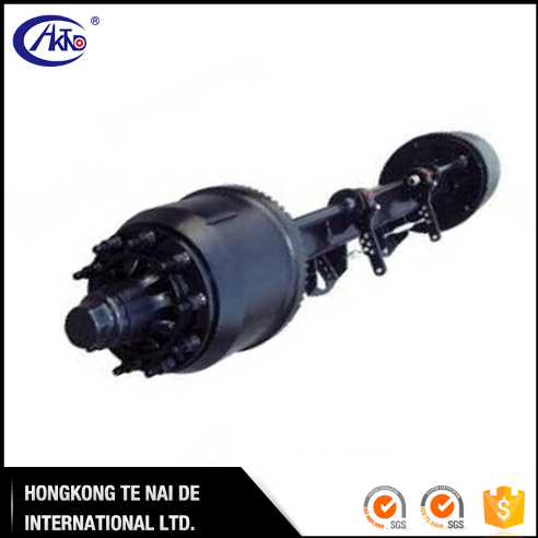 High Quality 14T Inboard Drum Axle for Tipper Trailer