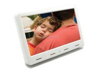 Wireless HD 7 Inch Photo Digital Frame , Electrical Photo Frame With SD Slot / USB Host for post offices ad player