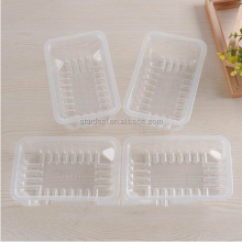 custom accept clear PP blister plastic bakery cake packaging tray