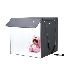 40*40*40cm Room Camera Lightbox Photo Studio Magnet Lamp Tape Photography Backdrop Shooting Photography Studio SANOTO F40