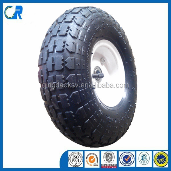 China Manufacturer Produce Rubber Wheel 10 Inch Rubber Wheel for Trolley