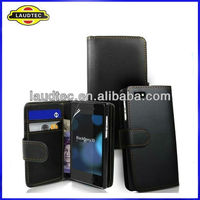 2013 High Quality Wallet Leather Case for Blackberry Z10,BB Z10 Flip Cover,Laudtec