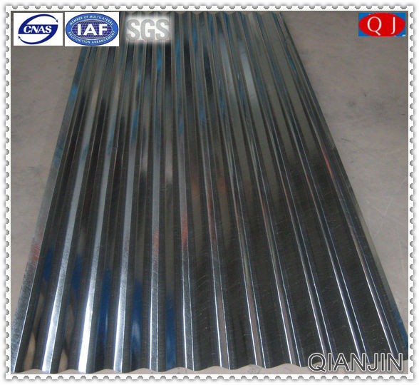 QJ-SPCC gb used building material galvanized roofing sheet