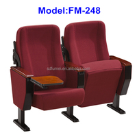 FM-248 Specific use lecture hall folding seat with back tablet