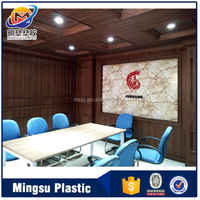 lightweight decorative plastic pop eco-friendly office ceiling material