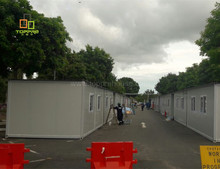 Modular mobile pre construction homes containers house Manila for construction site worker accomodation