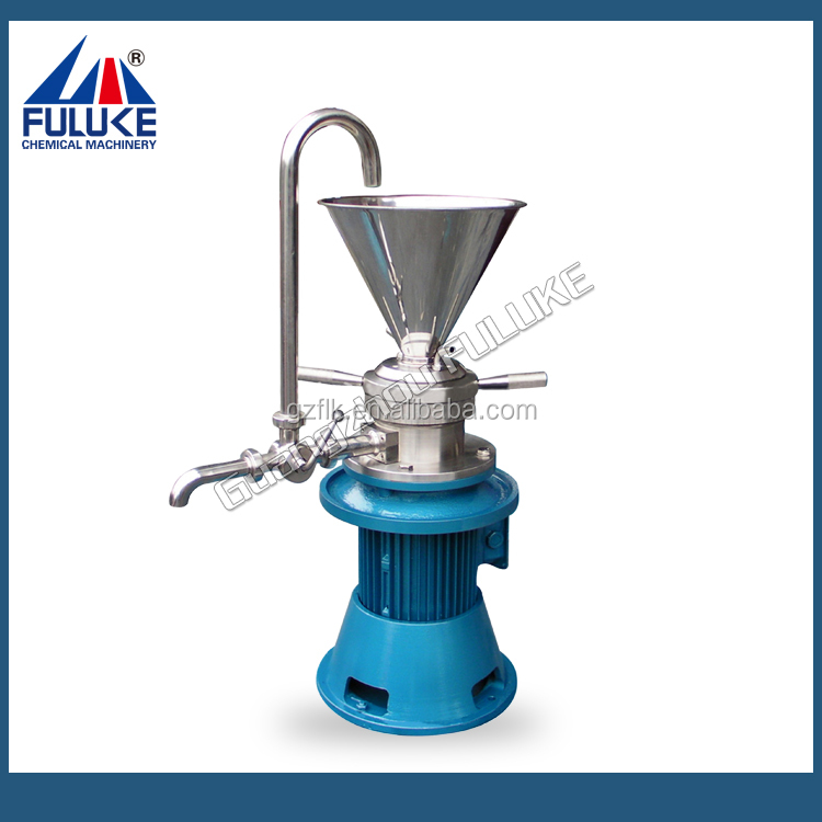 Full stainless steel sauce coill machine, milk homogenizer, bar blender