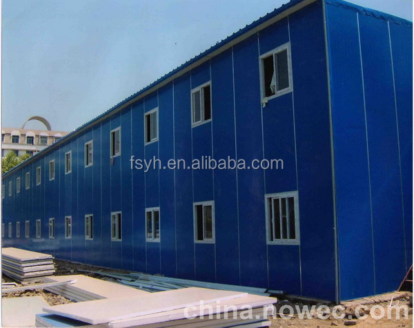 new concept flat roof prefabricated house