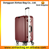 New design aluminum frame pc luggage travel bags luggage factory