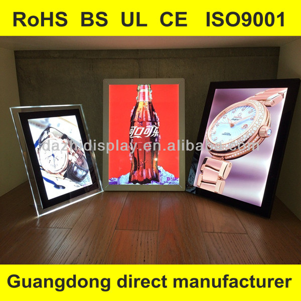 Guangdong direct manufacturer New product Dior LED light box inspections