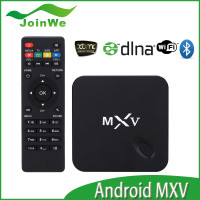 2015 Best Selling Products Mxv Smart Multimedia Player Tv Box 1gb 8gb Quad Core Android 4.4 Tv Box