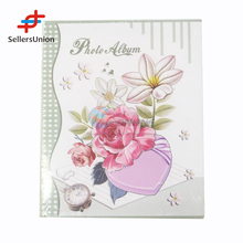 2017 No.1 Yiwu agent hot sale commission sourcing agent Wholesale Rose Cover Wedding Photo Album