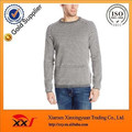 Simple plain blank casual pullover fleece crewneck men sweatshirts wholesale