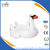Promotional giant swan inflatable pool toys swaimming rider