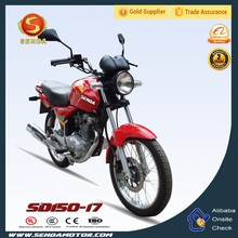 Good Price for Street Legal Bike New Super Street Bike 150CC Red CG 150 TITAN SD150-17