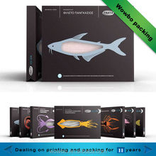 Eco- friendly hottes popular seafood packing box with window