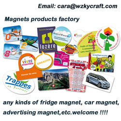 promotional gifts logo custom printed fridge magnets