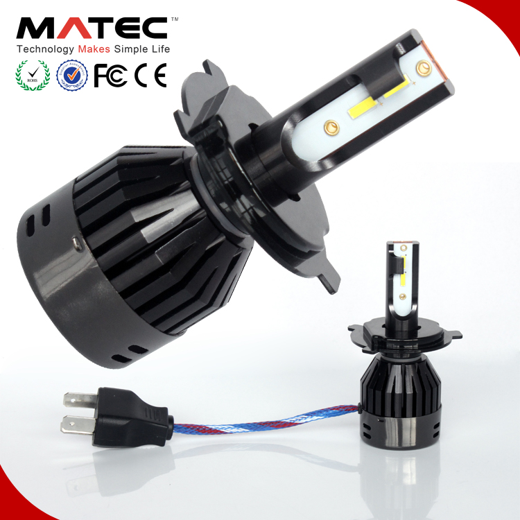 auto parts,G20 LED car lamp Super White COB LED fan H4-3 led headlight bulbs h1 h3 h7 H11 H13 9005 9006 8000lm H4