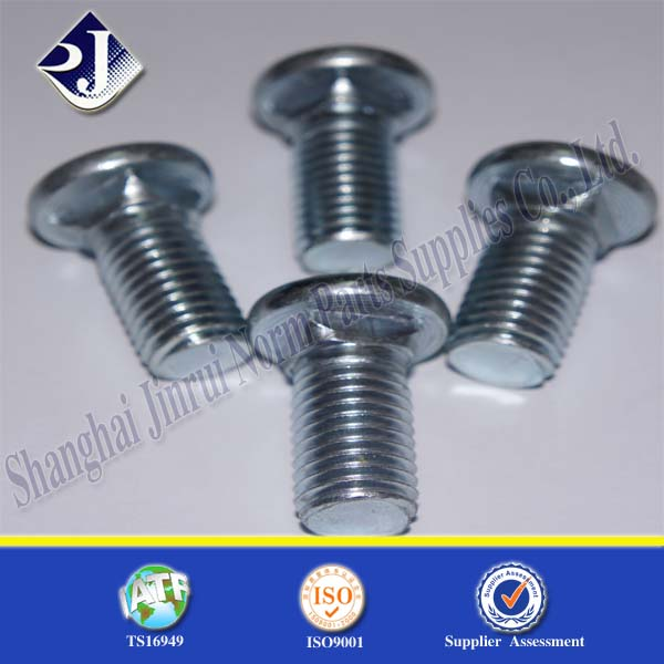 Grade 8.8 Square Neck Bolt M10 Square Neck Bolt grade 4.6 bolt