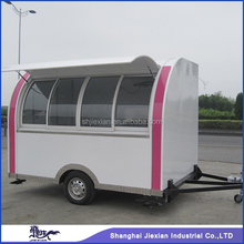 JX-FS290D Chinese wonderful mobile fast food mobile kitchen trailer