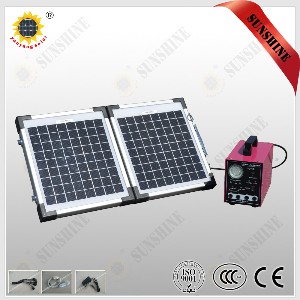 Newest high quality solar off grid system,mini solar generators for home